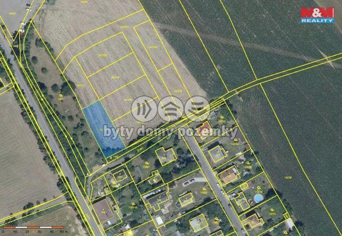 Prodej, Pozemek k bydlení, 822 m², Sobotka