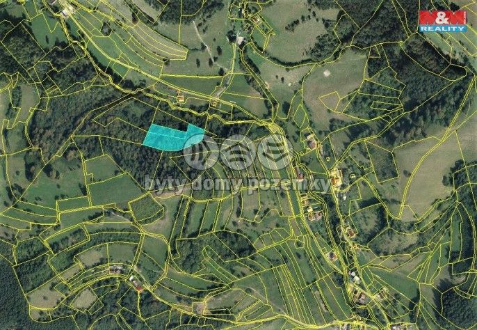 Prodej, Les, 5661 m², Huslenky