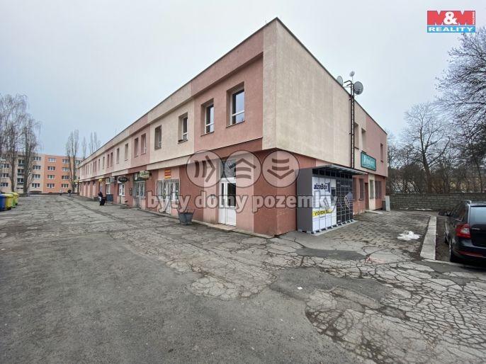 Pronájem, Obchod a služby, 43 m², Chomutov, Cihlářská