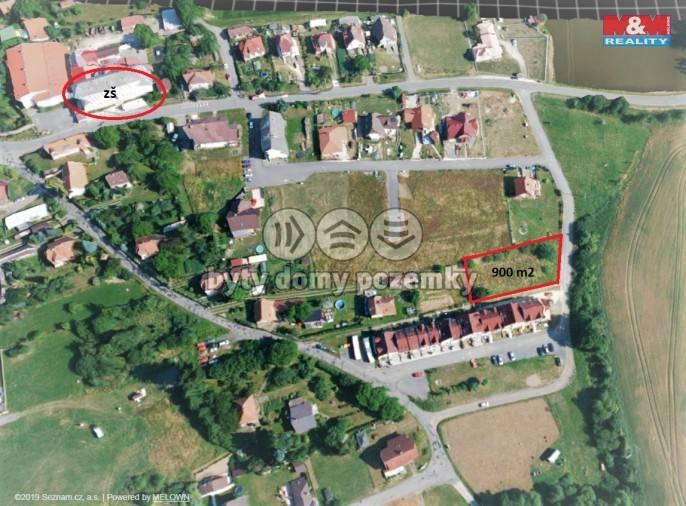 Prodej, Stavební parcela, 940 m², Borotín