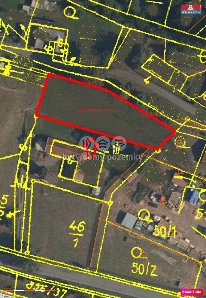 Prodej, Pozemek k bydlení, 1200 m², Opatovec