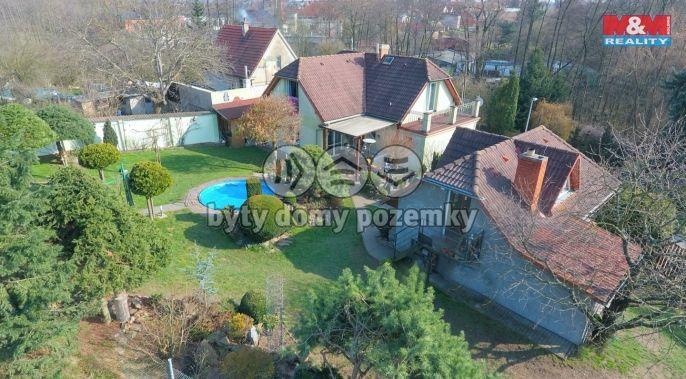 Prodej, rodinný dům, 3+kk a 1+kk, 212 m2, Praha 10 Pitkovice