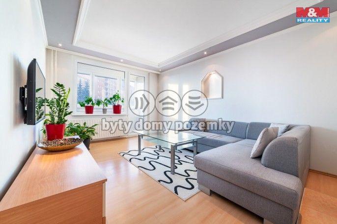 Prodej, Byt 3+1, 60 m², Chomutov, Borová