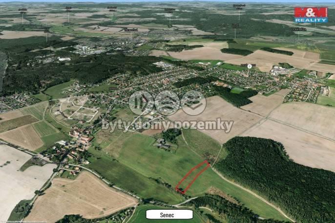 Prodej, Pozemek k bydlení, 5607 m², Zruč-Senec