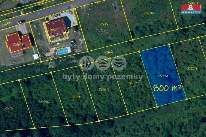 Prodej, Pozemek k bydlení, 800 m², Litvínov
