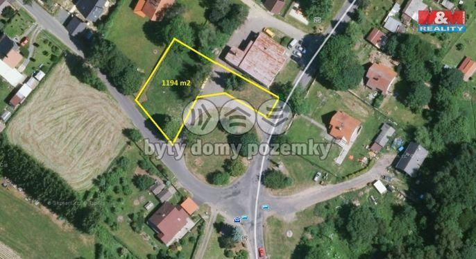 Prodej, Pozemek k bydlení, 1194 m², Tři Sekery