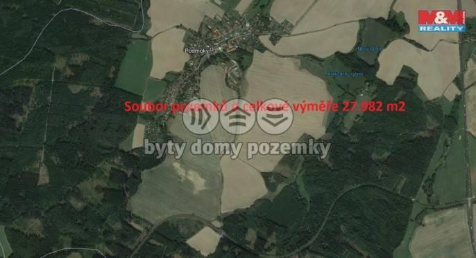Prodej, Pole, 27982 m², Podmoky