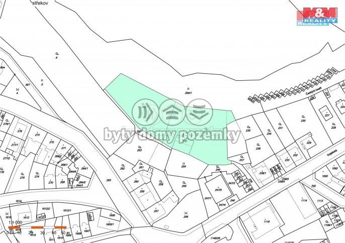 Prodej pozemku k bydlení, 4076 m², Ústí nad Labem,