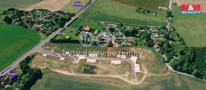 Prodej, Stavební parcela, 870 m², Klatovy