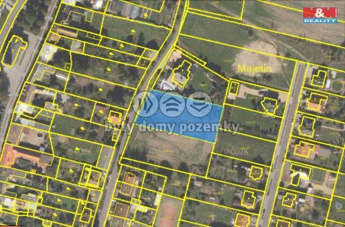 Prodej, Pozemek k bydlení, 2198 m², Majetín