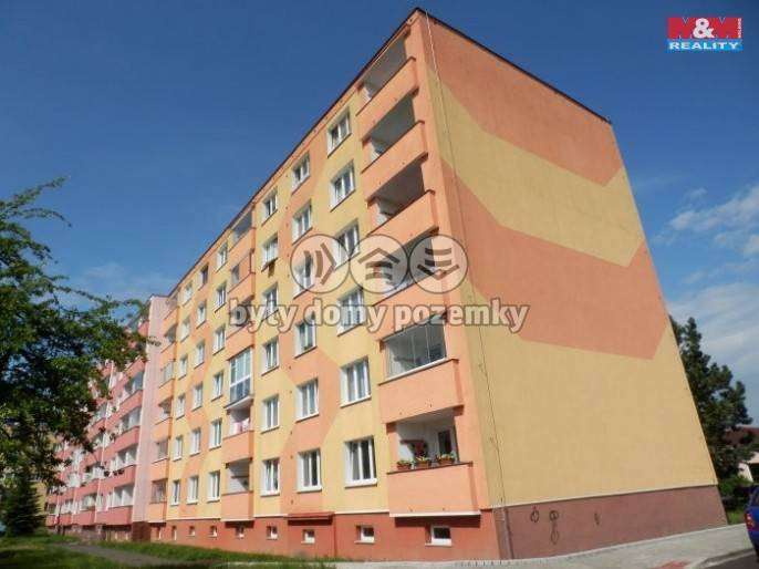 Pronájem, Byt 1+1, 42 m², Cheb, Šeříková