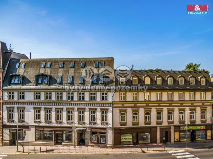 Prodej, Byt 2+kk, 43 m², Jablonec nad Nisou, Anenské náměstí
