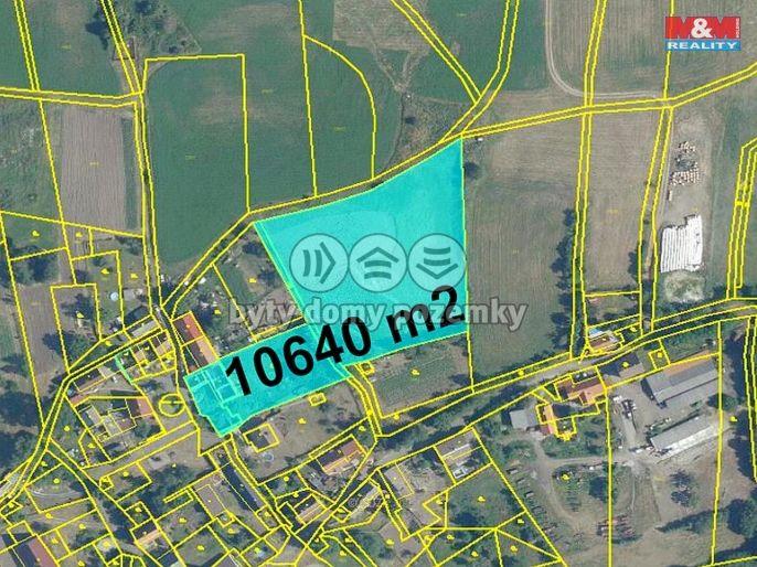 Prodej, Pozemek k bydlení, 10640 m², Liběšice