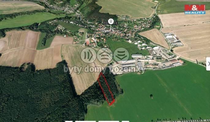 Prodej, Les, 2275 m², Hromnice