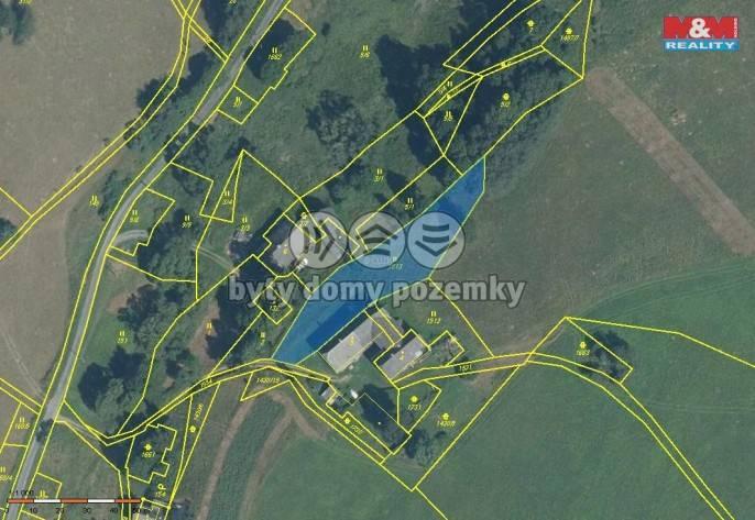 Prodej, pozemek, 1636 m2, Hanušovice - Vysoké Žibřidovice