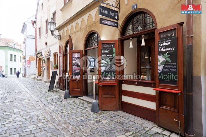 Pronájem, Restaurace, stravování, 299 m², Český Krumlov, Soukenická