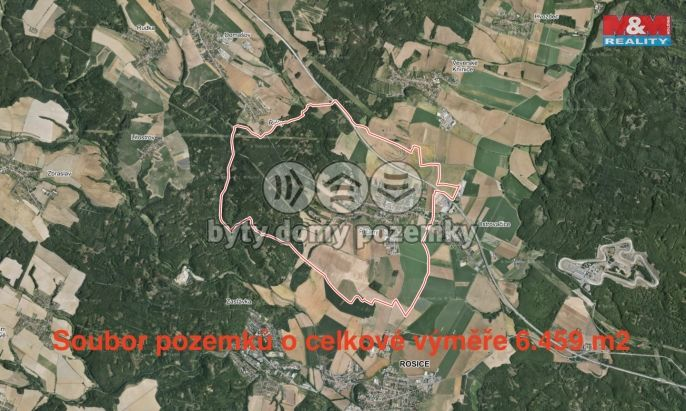 Prodej, Pole, 6459 m², Říčany