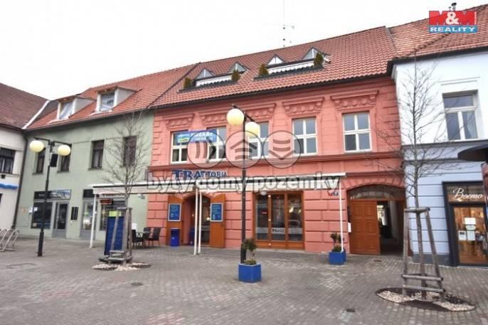 Pronájem, Byt 1+1, 46 m², Poděbrady, Jiřího náměstí