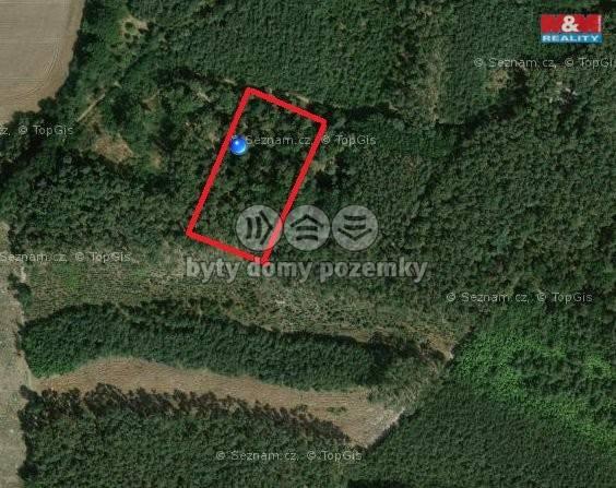 Prodej, Les, 2362 m², Písty
