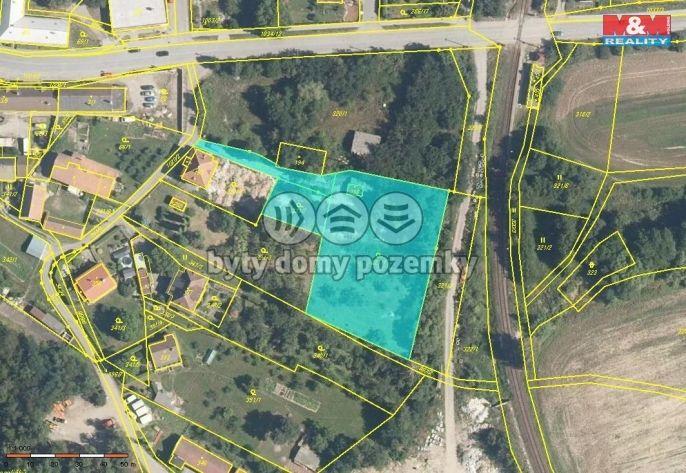 Prodej, Pozemek k bydlení, 3640 m², Prosetín