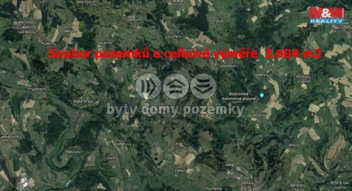 Prodej, Louka, 3604 m², Železný Brod