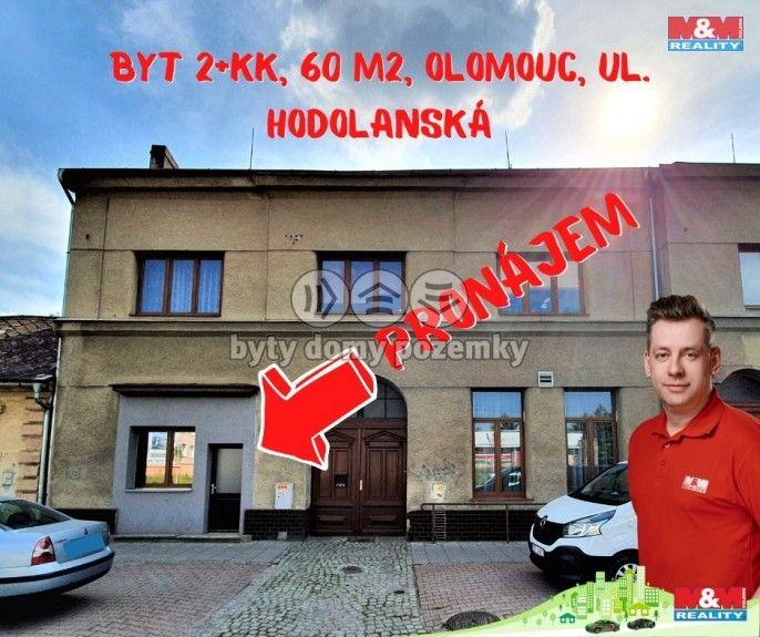 Pronájem, Byt 2+kk, 60 m², Olomouc, Hodolanská
