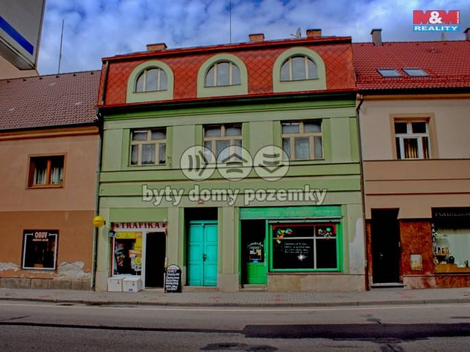 Prodej, Rodinný dům, 689 m², Milevsko, Masarykova