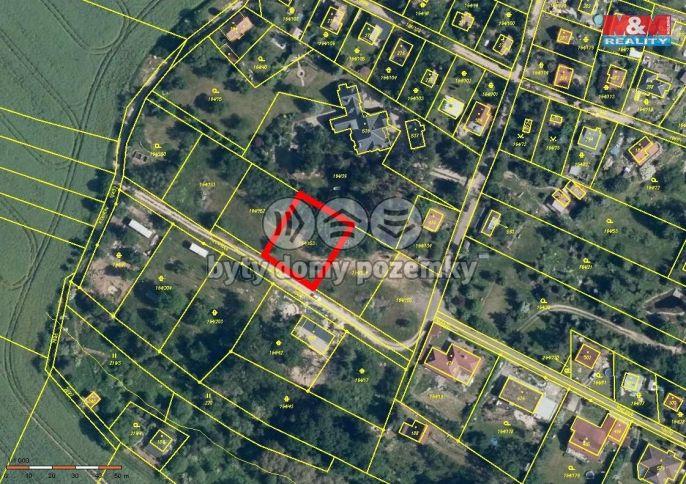 Prodej, Pozemek k bydlení, 812 m², Doubravčice, Kamenická