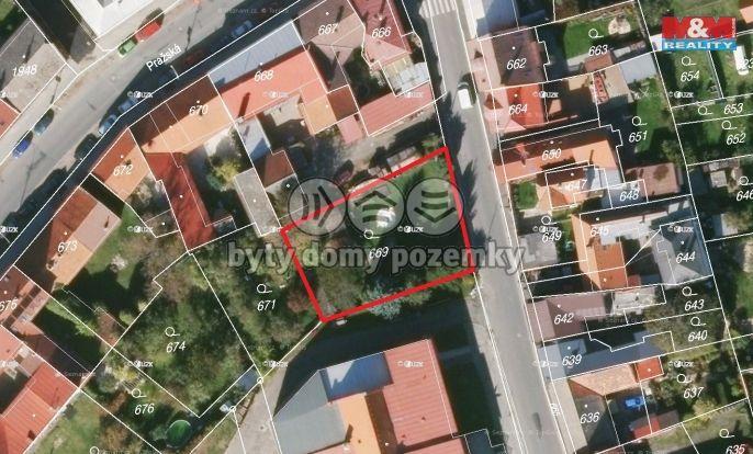 Prodej, Pozemek k bydlení, 630 m², Kostelec nad Černými lesy, Komenského
