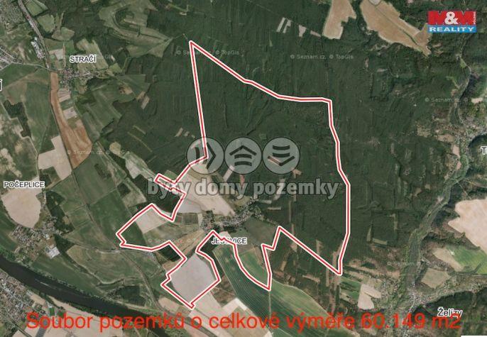 Prodej, Pole, 60149 m², Liběchov