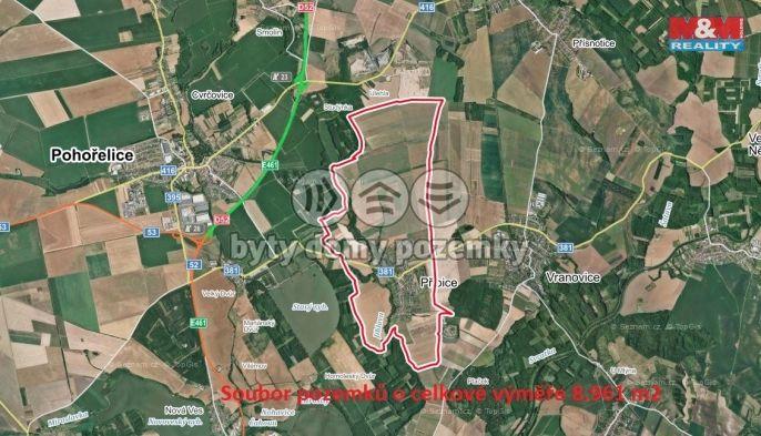 Prodej, Pole, 8961 m², Přibice