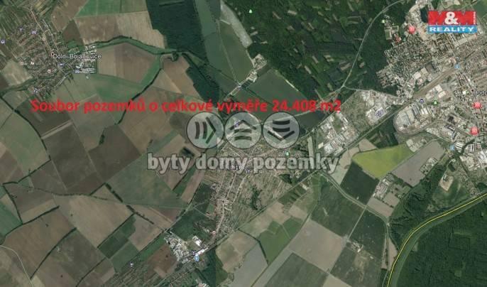 Prodej, Pole, 24408 m², Lužice