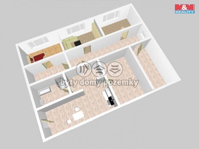 Prodej, Atypický byt, 150 m², Kladno, Vrapická
