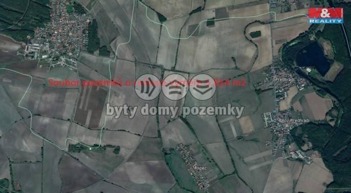 Prodej, Pole, 5814 m², Pňov-Předhradí
