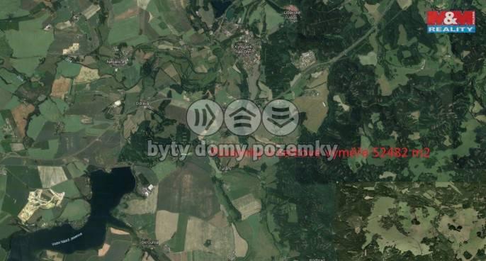 Prodej, Louka, 52482 m², Kynšperk nad Ohří