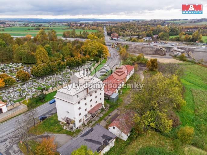 Prodej, komerční objekt, 8401 m2, Příbor, ul. Ostravská