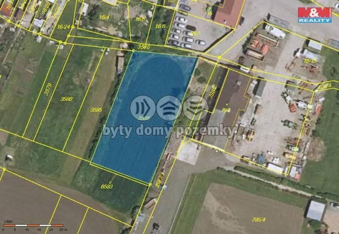 Prodej, pozemek, 1404 m2, Šanov