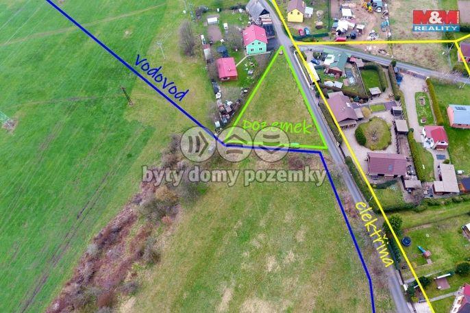 Prodej, Pozemek k bydlení, 928 m², Kadaň