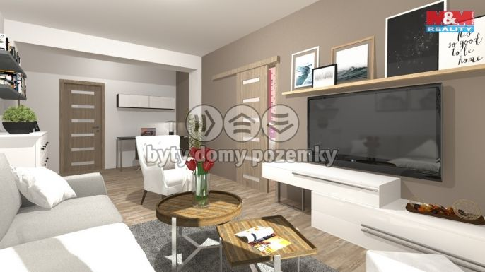 Prodej, Byt 4+1, 68 m², Praha, Mimoňská