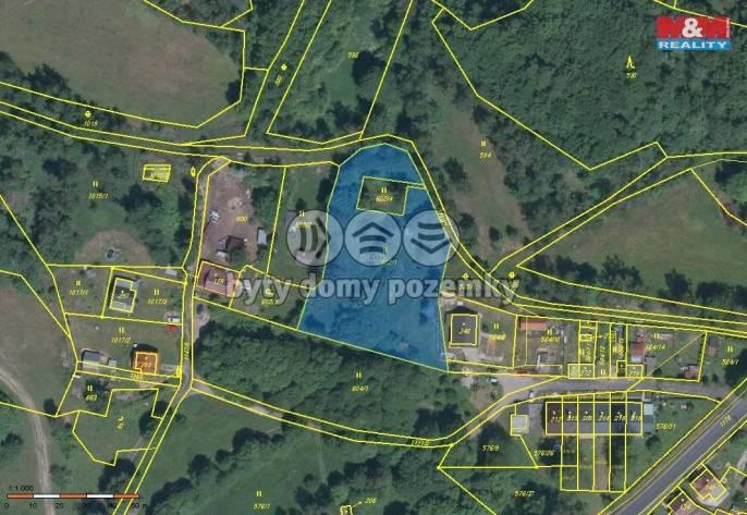 Prodej, Stavební parcela, 3085 m², Nejdek
