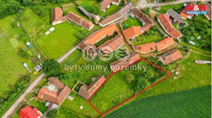 Prodej, Pozemek k bydlení, 1280 m², Žihobce