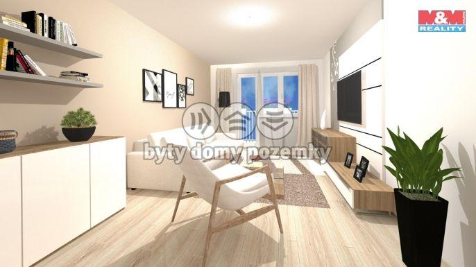 Prodej, Byt 1+1, 36 m², Orlová, Masarykova třída