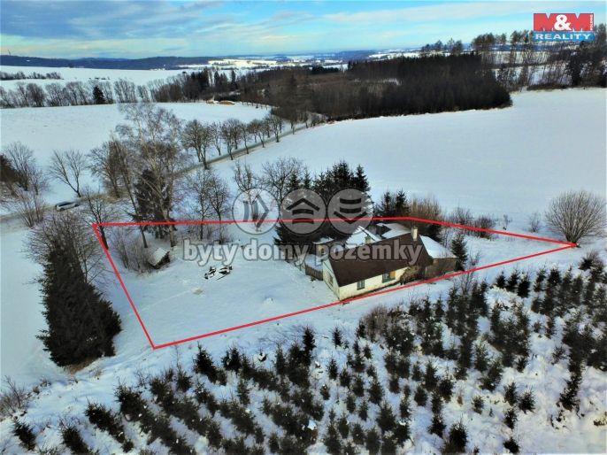 Prodej, Rodinný dům, 1310 m², Mezno