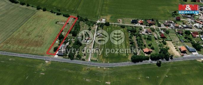 Prodej, Zahrada, 2721 m², Olomouc