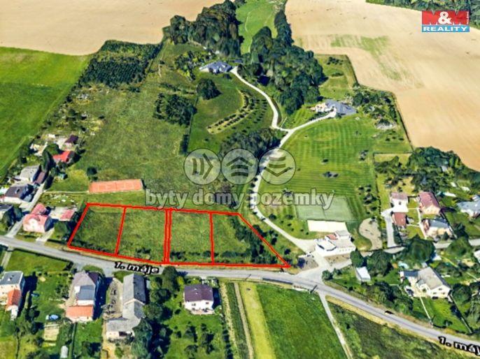 Prodej pozemku k bydlení, 1091 m², Bílovec, ul. 1.