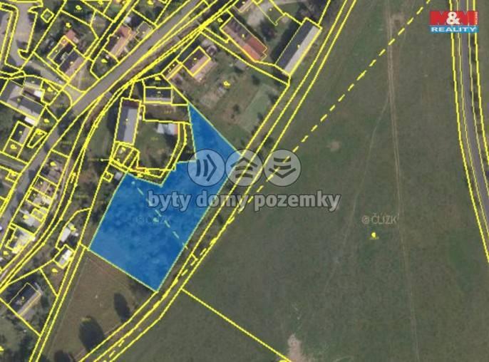Prodej, Stavební parcela, 4288 m², Uhelná