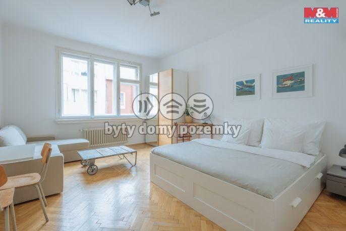 Pronájem, Byt 1+1, 25 m², Praha, Klimentská