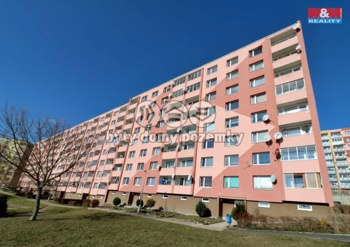 Pronájem, Byt 1+1, 36 m², Jirkov, K. Marxe