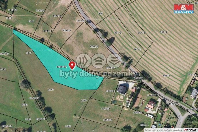 Prodej, Pozemek k bydlení, 5527 m², Kasejovice