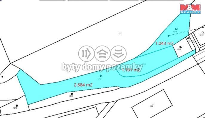 Prodej chaty, 4908 m², Třebichovice